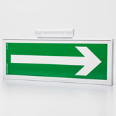 Aluminium frames for signs