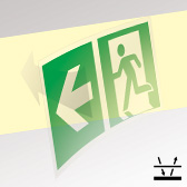 Photoluminescent Safety Way Guidance System in the public utility buildings (SWGS)