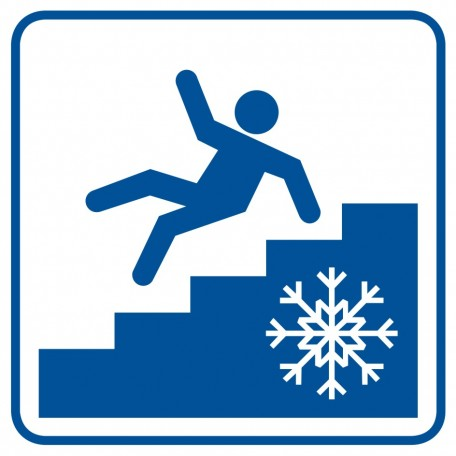 mind the slippery stairs