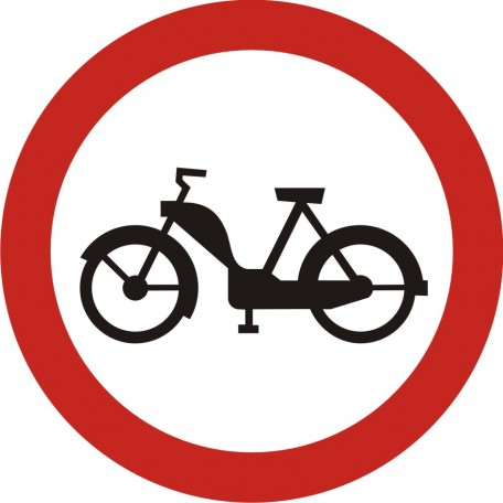 No motorbikes allowed