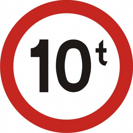 No vehicles of real total mass above ... t