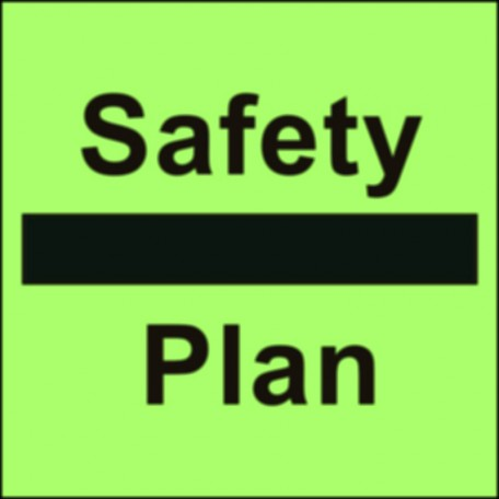 Plan for life-saving appliances and means of escape