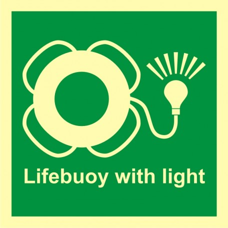 Lifebuoy with light