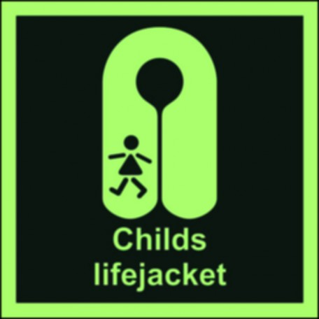 Childs lifejacket