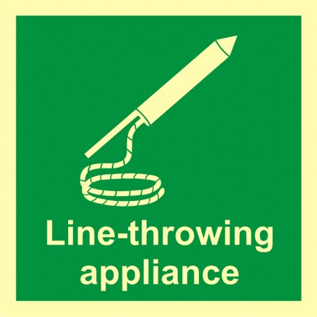 Line throwing appliance