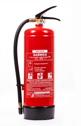 Powder fire extinguisher 6 kg (GP-6X ABC/E) up to 245 kV