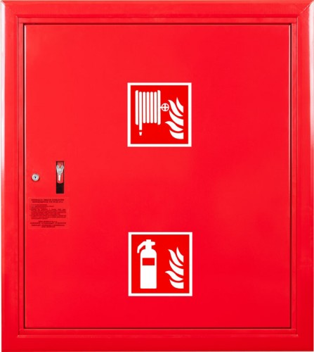 Hydrant DN 25 PN-EN 671-1 [W-25/30G] (with a place for the fire extinguisher)