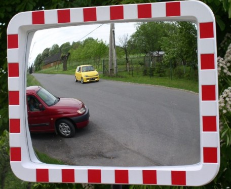 U-18b- Rectangle acrylic mirror