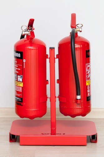 Stand for two fire extinguishers - 4kg and 6kg