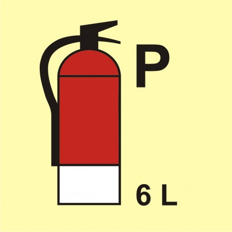 Fire extinguisher (P-powder) 6L