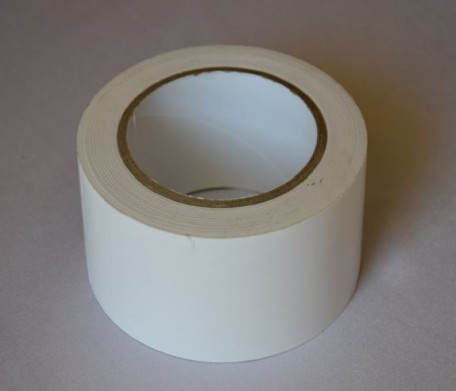 self-adhesive tape to the floor, length 33  white