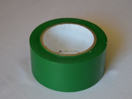 self-adhesive tape to the floor, length 33  green