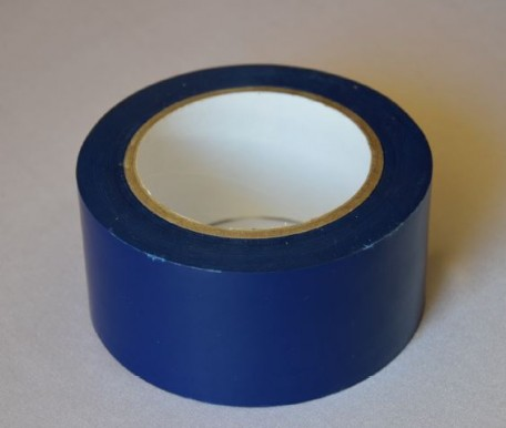 self-adhesive tape to the floor, length 33  navy blue