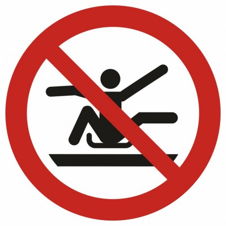 Do not stretch out of toboggan