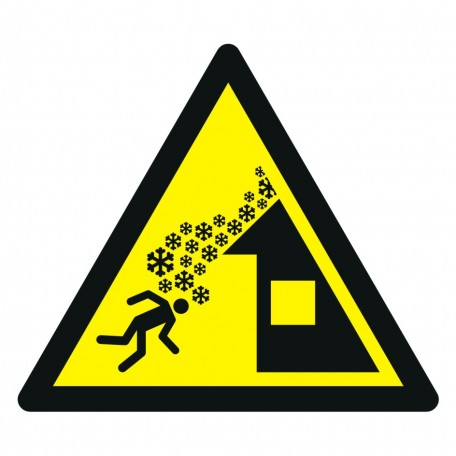 Warning; Roof avalanche