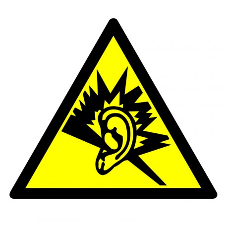 Warning - strong noise